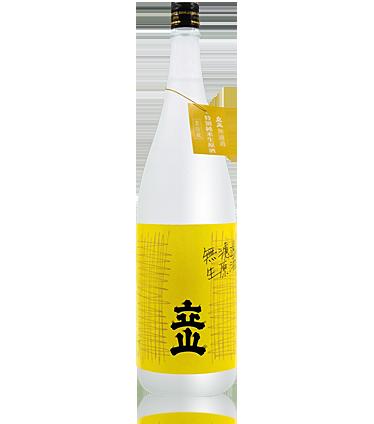 Tateyama Unfiltered Tokubetsu Junmai Namagenshu 1.8L