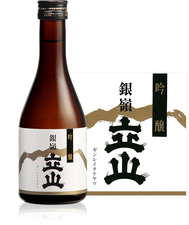 銀嶺立山(吟醸酒)300ml瓶詰