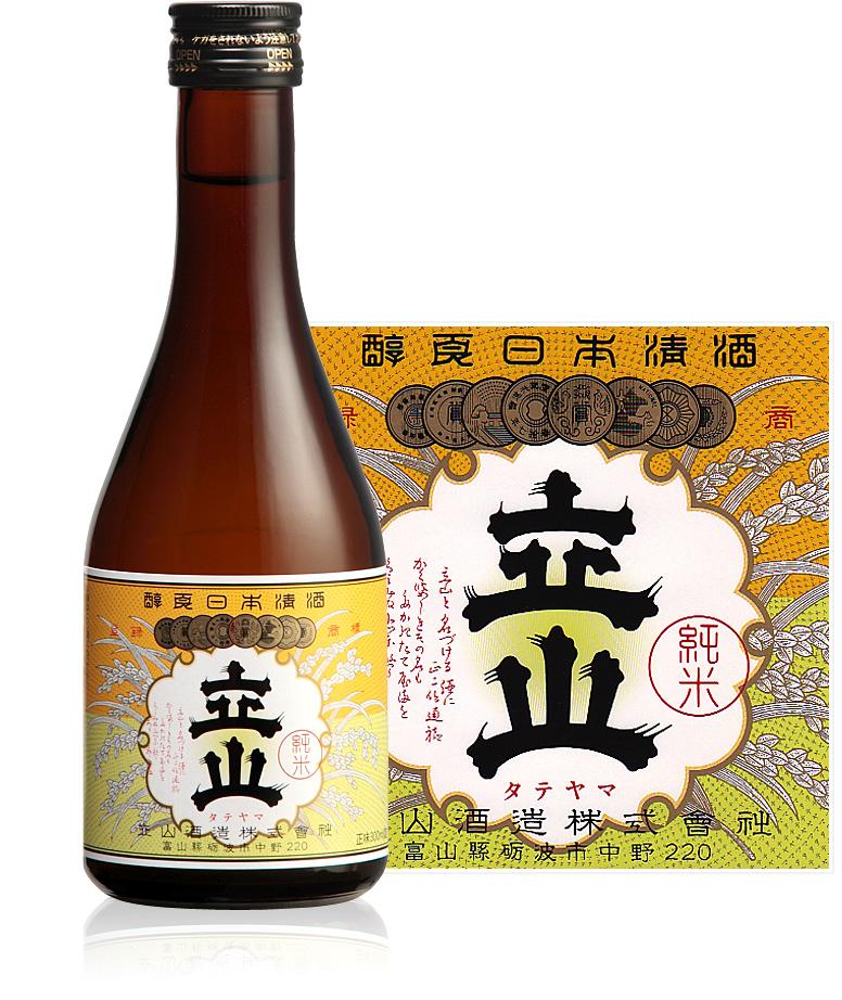 銀嶺立山(純米酒)300ml瓶詰