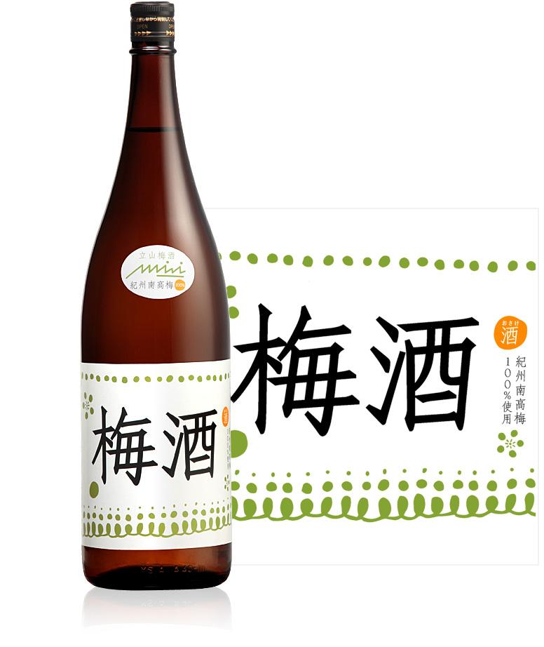 立山梅酒1.8L詰