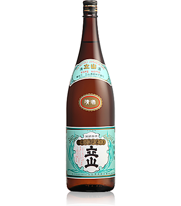 銀嶺立山(普通酒) 1.8L瓶詰