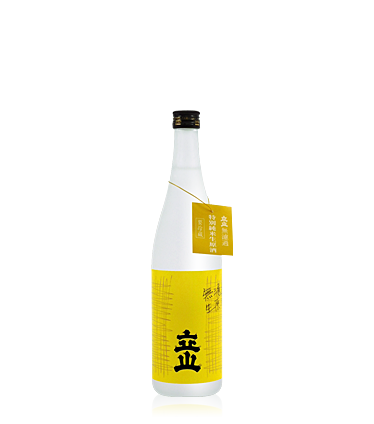 Tateyama Unfiltered Tokubetsu Junmai Namagenshu 720ml