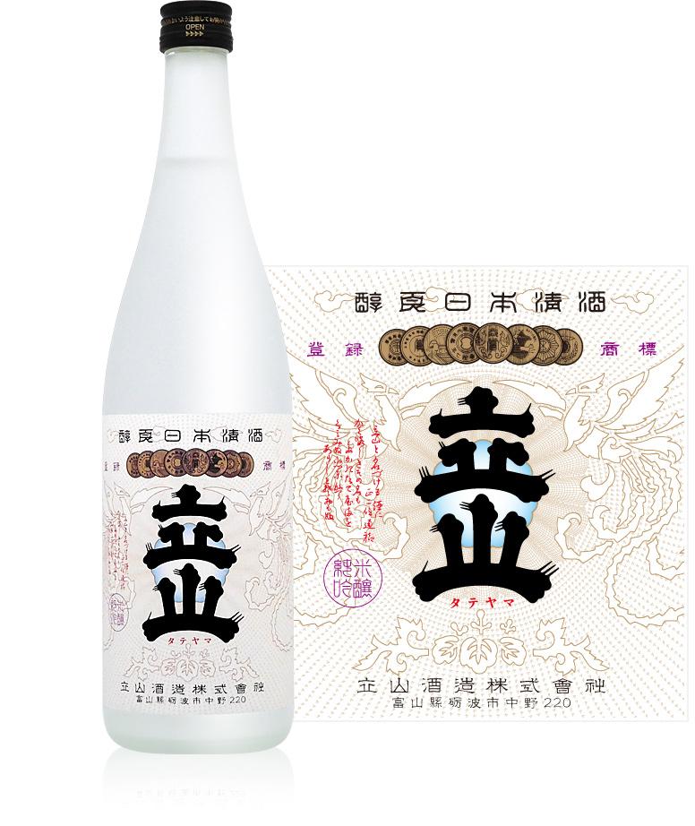 Junmai Ginjo Tateyama 720ml