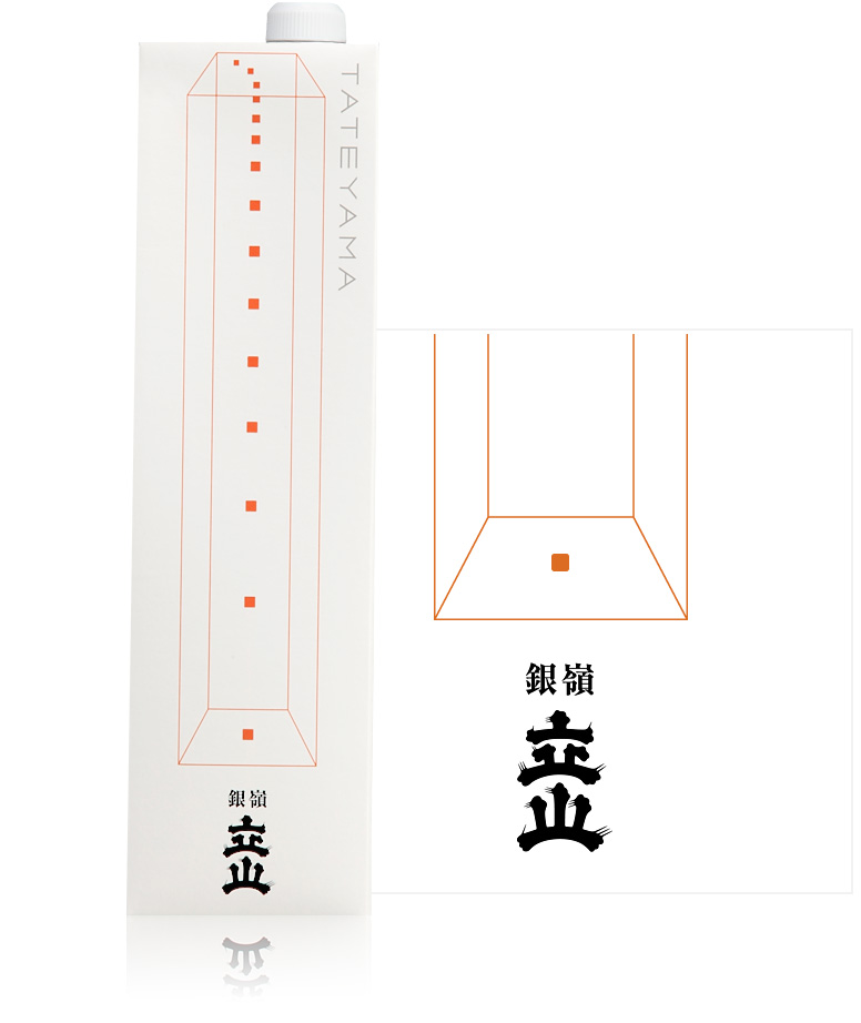 銀嶺立山(吟醸酒)1.2L詰紙パック