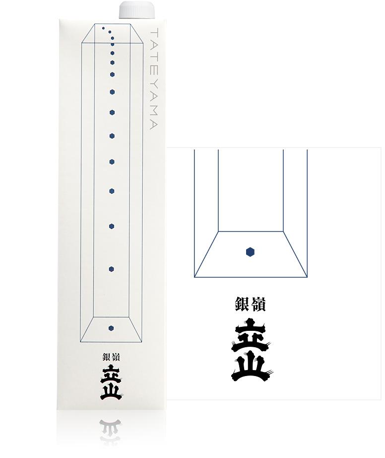 銀嶺立山(本醸造酒)1.2L詰紙パック