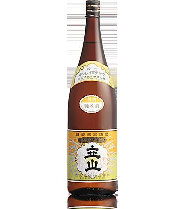 銀嶺立山(純米酒) 1.8L瓶詰