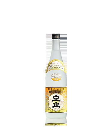生貯蔵銀嶺立山(純米酒) 720ml瓶詰
