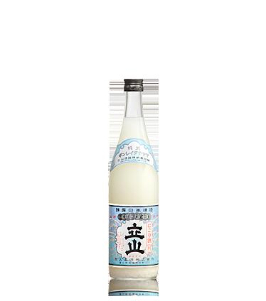 にごり酒銀嶺立山(純米酒) 720ml詰