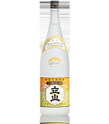 立山無濾過純米生原酒 1.8L詰