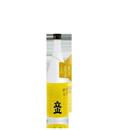 立山無濾過特別純米生原酒720ml