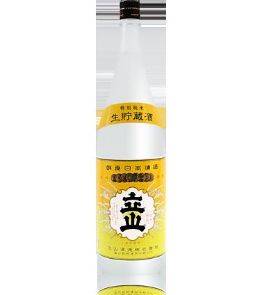 生貯蔵特別純米酒立山1.8L